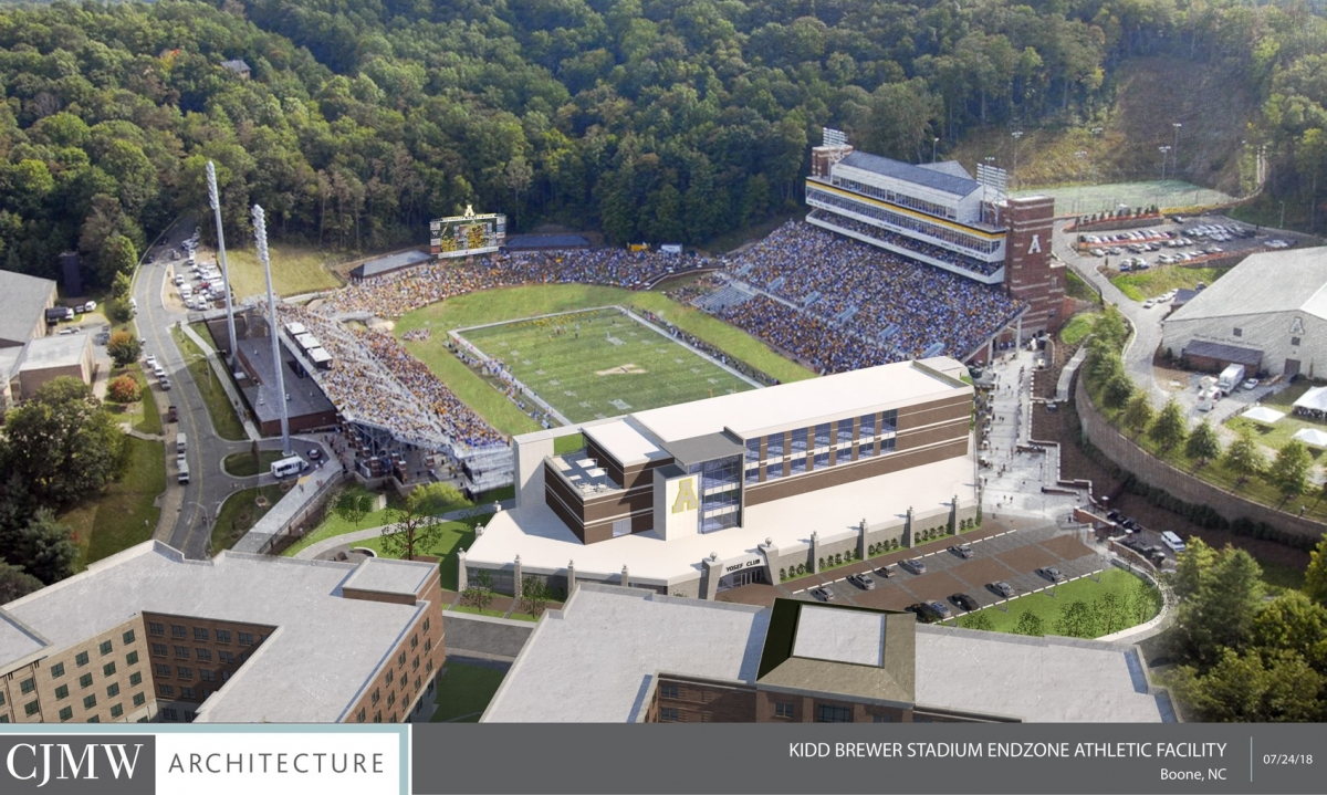 Kidd Brewer Stadium Aerial