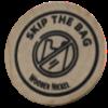 skip the bag wooden nickel